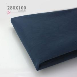TULLE BLU SCURO H 280 x 100 cm
