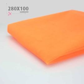 TULLE ARANCIO FLUO H 280 x 100 cm