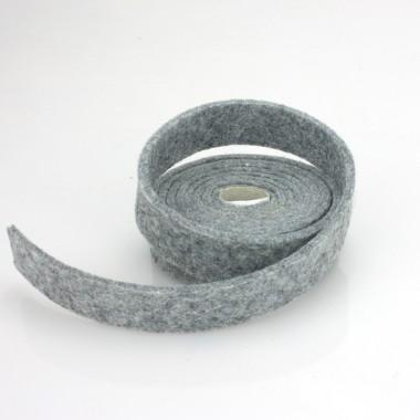 NASTRO IN FELTRO GRIGIO CHIARO - DIM. 2 CM  x 150 CM