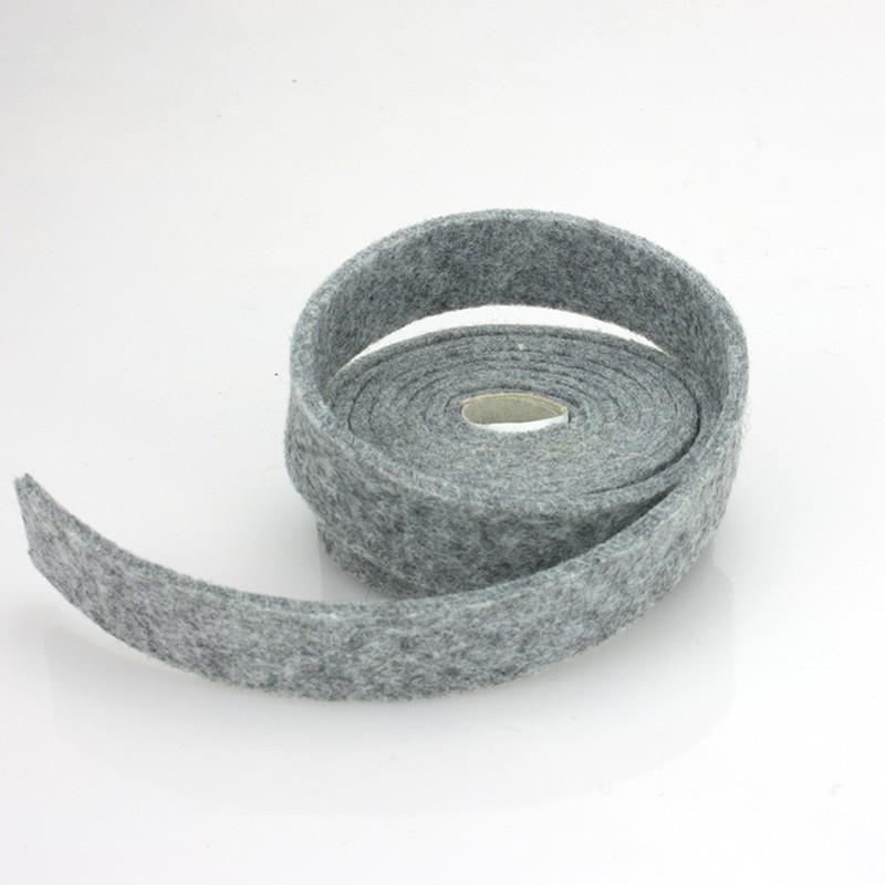 NASTRO IN FELTRO NERO - DIM. 2 CM x 150 CM