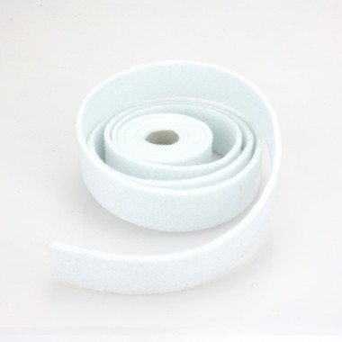 NASTRO IN FELTRO BIANCO - DIM. 2 CM  x 150 CM