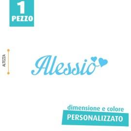 NOME IN FELTRO PERSONALIZZATO - ALESSIO