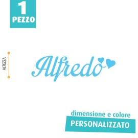 NOME IN FELTRO PERSONALIZZATO - ALFREDO