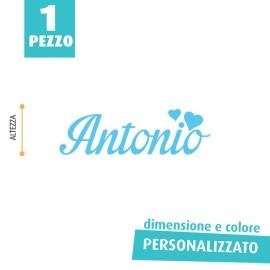 NOME IN FELTRO PERSONALIZZATO - ANTONIO