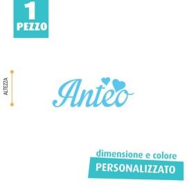 NOME IN FELTRO PERSONALIZZATO - ANTEO