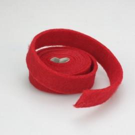 NASTRO IN FELTRO GIALLO - DIM. 2 CM x 150 CM