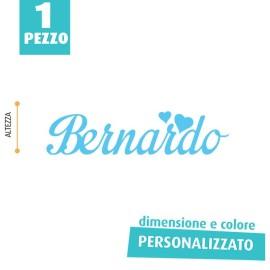 NOME IN FELTRO PERSONALIZZATO - BERNARDO