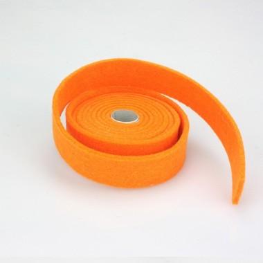 NASTRO IN FELTRO ARANCIO - DIM. 2 CM  x 150 CM