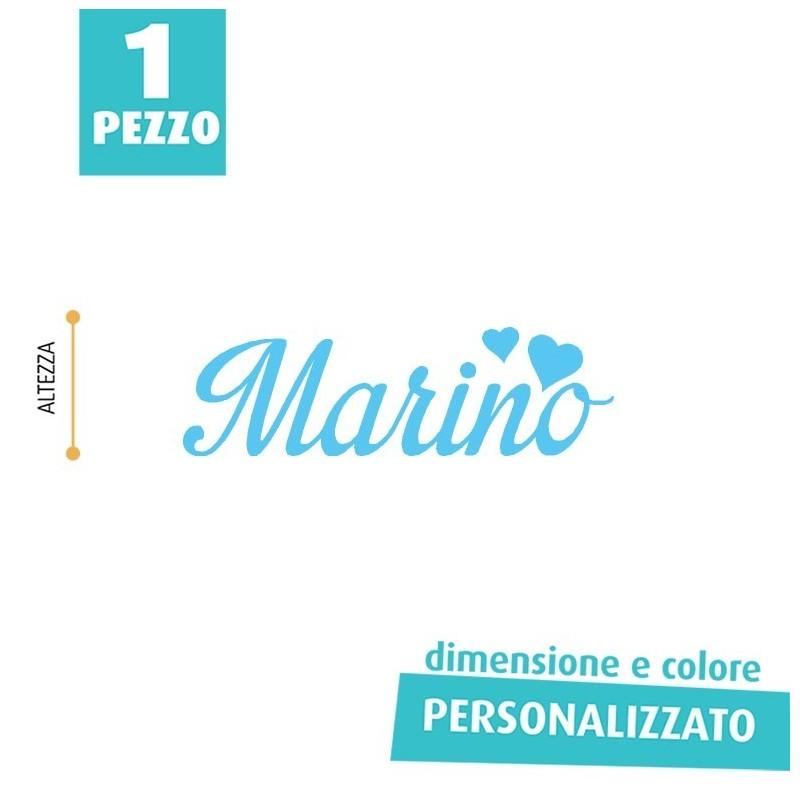 NOME IN FELTRO PERSONALIZZATO - MARINO