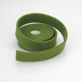 TAPE GREEN FELT MAY DIM. 2 CM x 150 CM