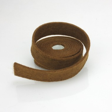 TAPE BROWN FELT - DIM. 2 CM x 150 CM
