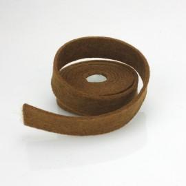 NASTRO IN FELTRO VERDE BILIARDO - DIM. 2 CM x 150 CM