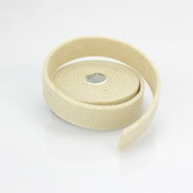 NASTRO IN FELTRO CREMA - DIM. 2 CM  x 150 CM