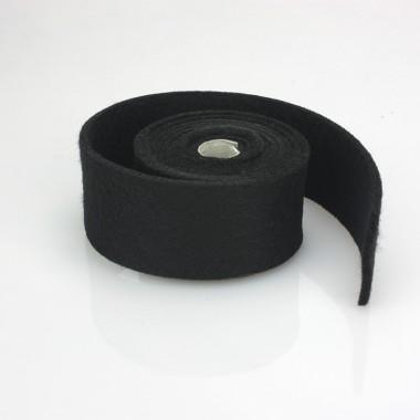 TAPE A BLACK FELT - DIM. 4 CM x 150 CM