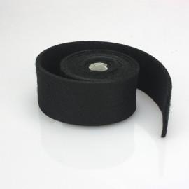 TAPE A BLACK FELT - DIM. 2 CM x 150 CM