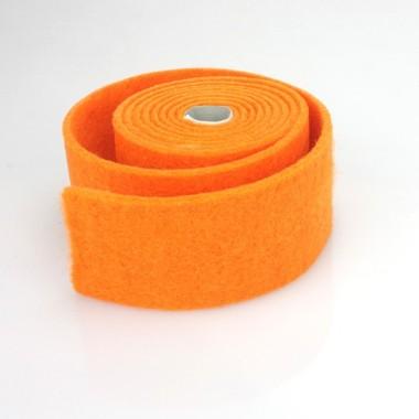NASTRO IN FELTRO ARANCIO - DIM. 4 CM  x 150 CM