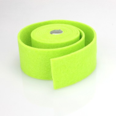 TAPE GREEN FELT ACID - DIM. 4 CM x 150 CM