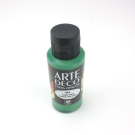 COLORE ACRILICO DECO 60 ML VERDE SCURO - EXTRA OPACO