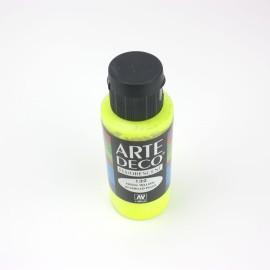 COLORE ACRILICO DECO 60 ML GIALLO - FLUO