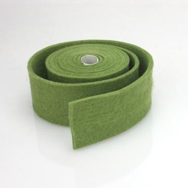TAPE FELT-OLIVE-GREEN - DIM. 4 CM x 150 CM