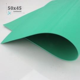 GOMMA CREPLA / MOOSGUMMI / FOMMY 50 X 45 CM - VERDE SMERALDO