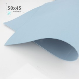 GOMMA CREPLA / MOOSGUMMI / FOMMY 50 X 45 CM - CELESTE