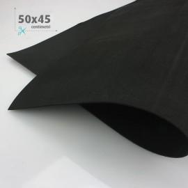GOMMA CREPLA / MOOSGUMMI / FOMMY 50 X 45 CM - NERO