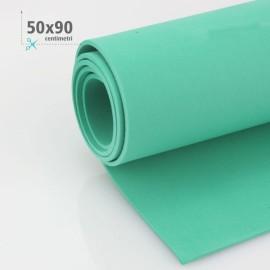 GOMMA CREPLA / MOOSGUMMI / FOMMY 50 X 90 CM - VERDE SMERALDO