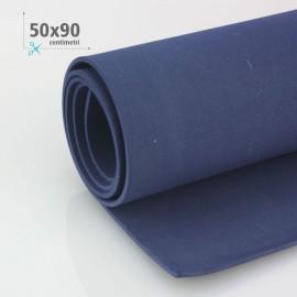 GOMMA CREPLA / MOOSGUMMI / FOMMY 50 X 90 CM - BLU SCURO