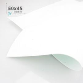 KIT RISPARMIO MIX 5 FOGLI 50 x 45 CM GOMMA CREPLA FOMMY BLU /BIANCO