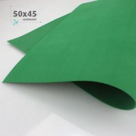 KIT RISPARMIO MIX 5 FOGLI 50 x 45 CM GOMMA CREPLA FOMMY VERDE /BIANCO
