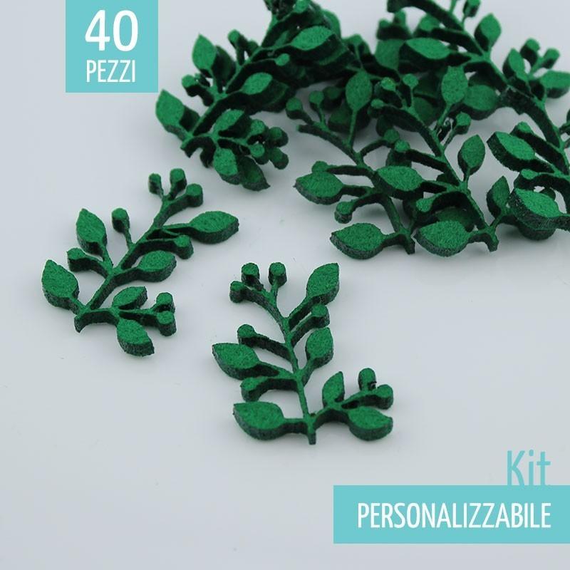 KIT RISPARMIO 34 RAMETTI IN FELTRO - DIMENSIONI A SCELTA