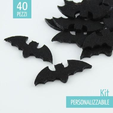 KIT RISPARMIO 40 PIPISTRELLI IN FELTRO - DIMENSIONI A SCELTA