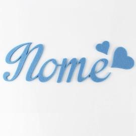 NOME IN FELTRO PERSONALIZZATO - ALFONSO