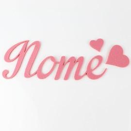 NOME IN FELTRO PERSONALIZZATO - ALBERTA