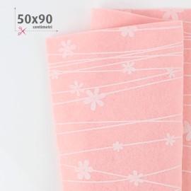 KIT RISPARMIO 5 PANNOLENCI MIX - FLOWER ROSA