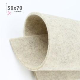 FELTRO SABBIA MELANGE 50X70