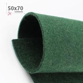 FELTRO VERDE SCURO 50X70 CM