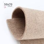 FELTRO TORTORA MELANGE 50X70