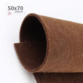 FELTRO MARRONE 50X70 CM