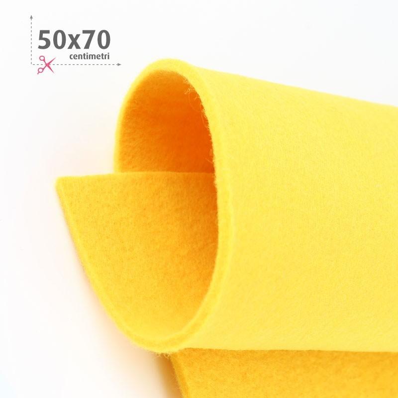 FELTRO GIALLO 50X70 CM