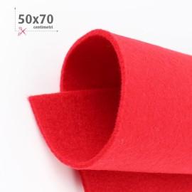FELTRO ROSSO 50X70 CM