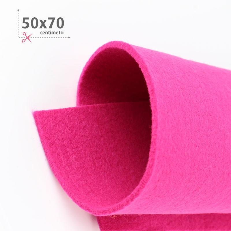 FELTRO FUCSIA 50X70 CM