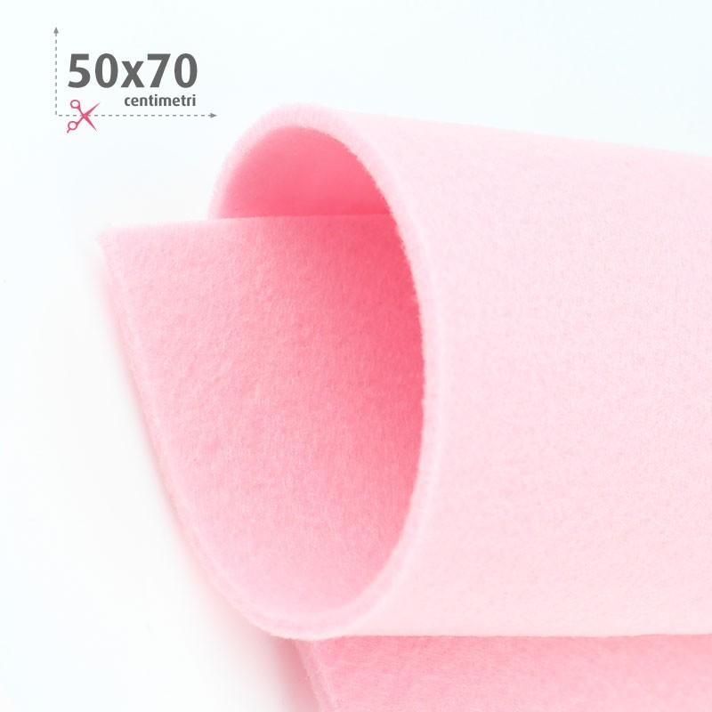 FELTRO ROSA BABY 50X70 CM