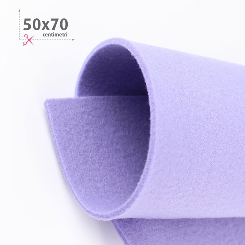 FELTRO LILLA 50X70 CM