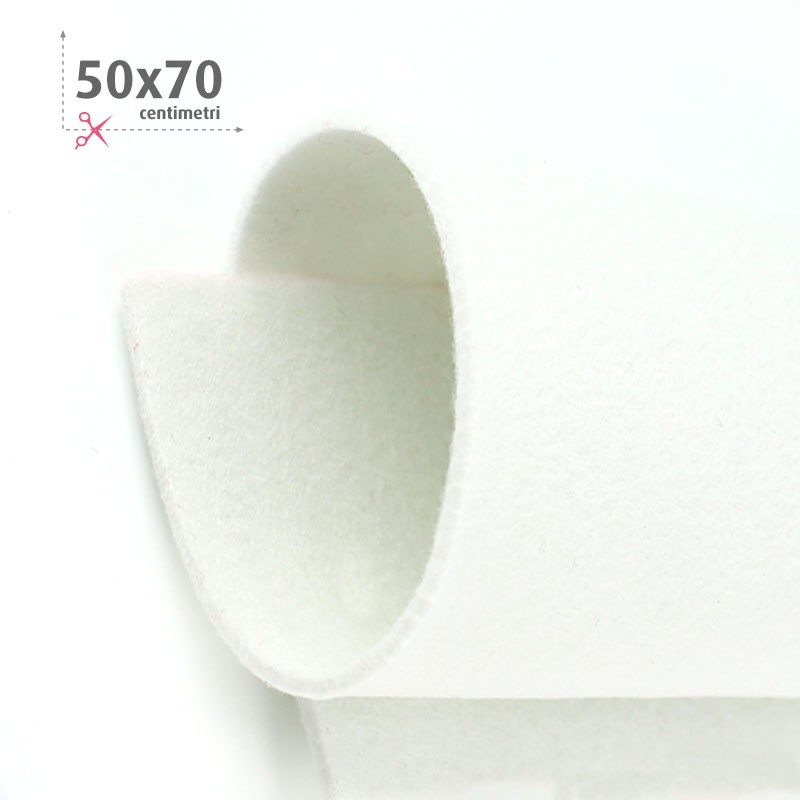 FELTRO BIANCO 50X70 CM