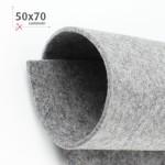 FELTRO GRIGIO CHIARO MELANGE 50X70 CM