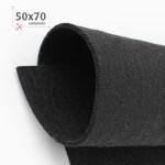 FELTRO NERO 50X70 CM