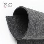 FELTRO GRIGIO ANTRACITE 50X70 CM