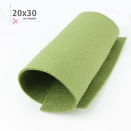 KIT RISPARMIO 15 FOGLI FELTRO 20X30 CM - SOAVE